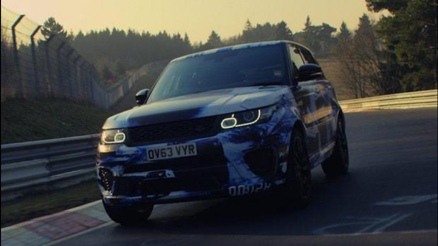 Range Rover Sport SVR, il SUV più veloce al Nurburgring