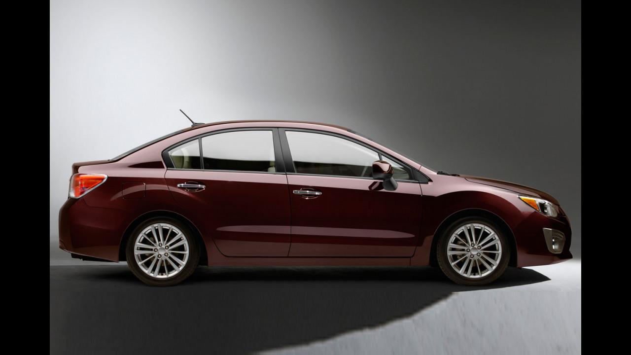 Nuova Subaru Impreza 4 porte