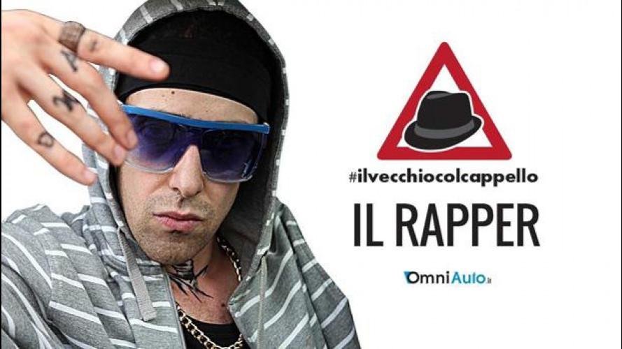 Il rapper e #ilvecchiocolcappello