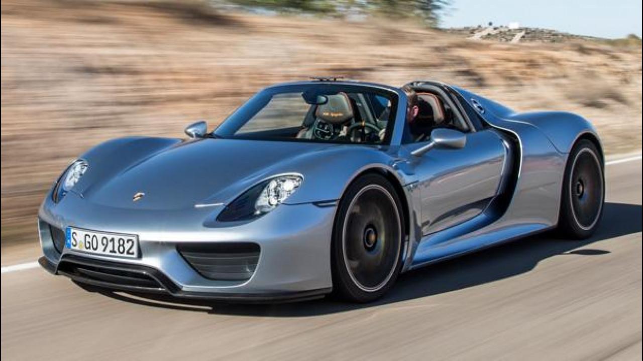[Copertina] - Porsche 918 Spyder, nuovo richiamo per 205 supercar