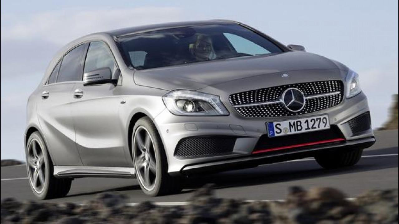 [Copertina] - Quattro ruote motrici per la nuova Mercedes Classe A 45 AMG