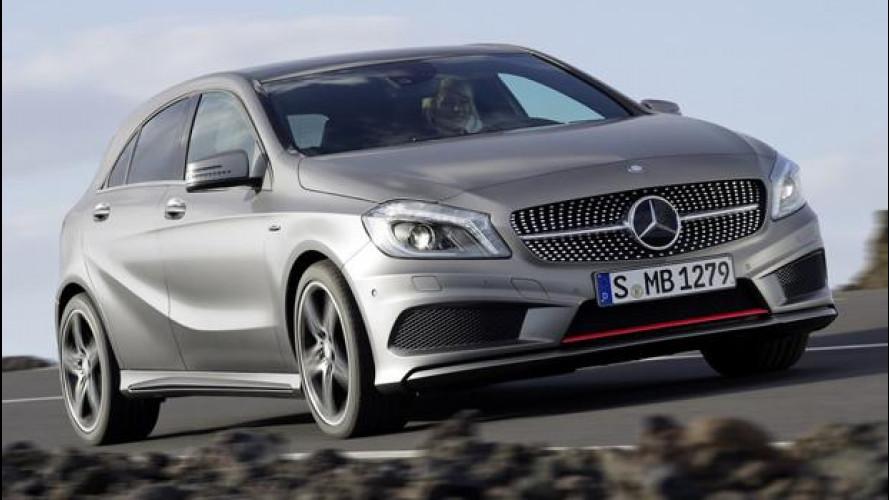 Quattro ruote motrici per la nuova Mercedes Classe A 45 AMG