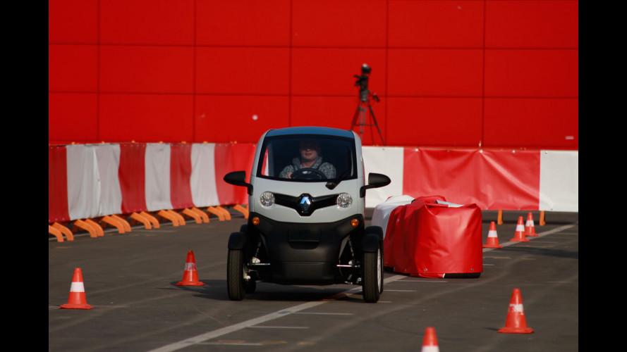 Abbiamo provato la Renault Twizy al Motor Show