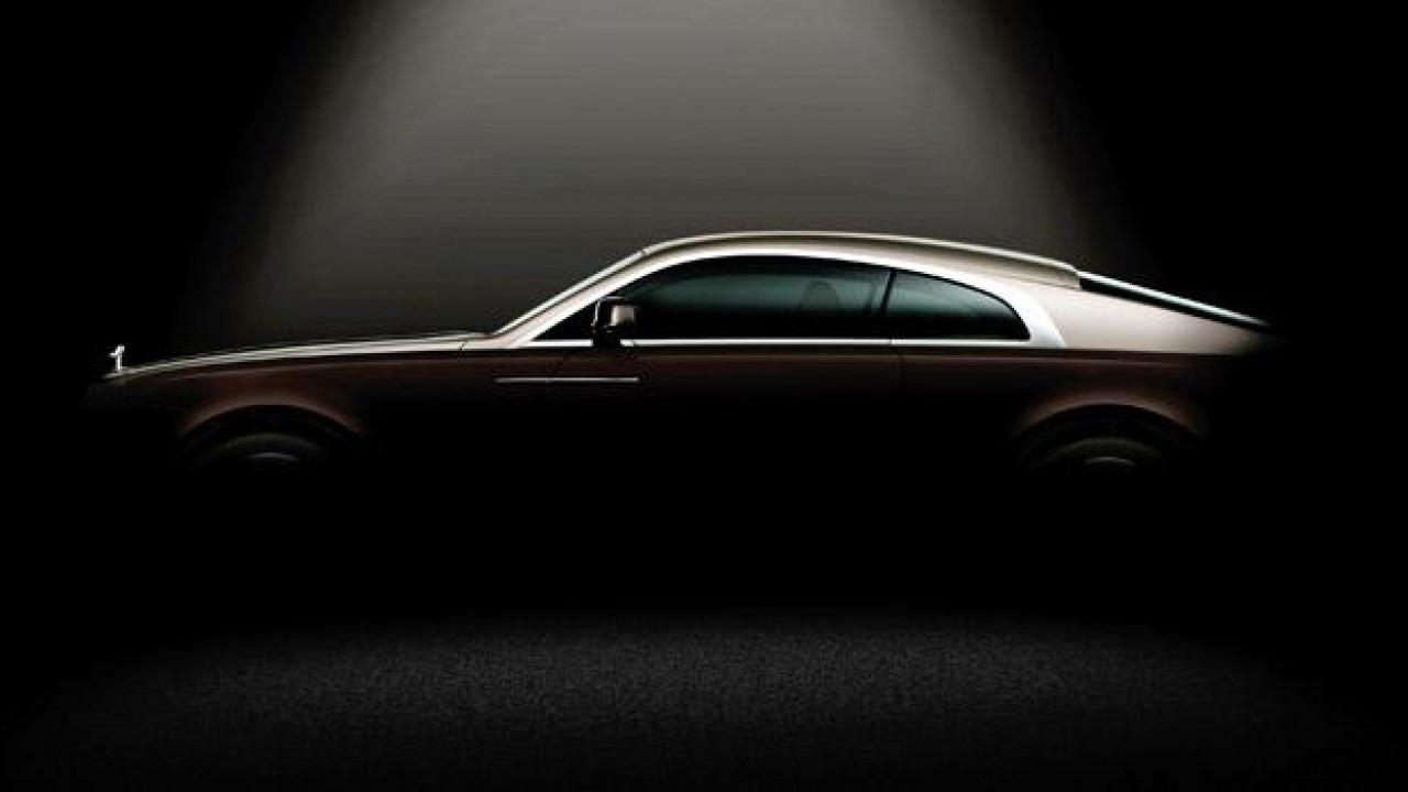 [Copertina] - Rolls-Royce Wraith, il primo teaser