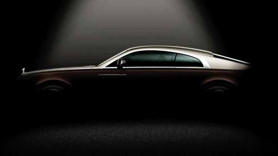 Rolls-Royce Wraith, il primo teaser