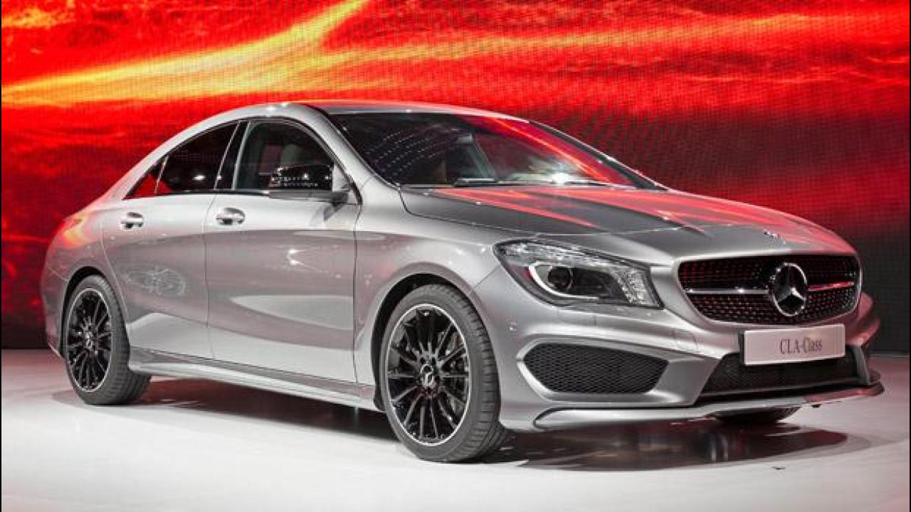 [Copertina] - Mercedes CLA: un'aerodinamica da record