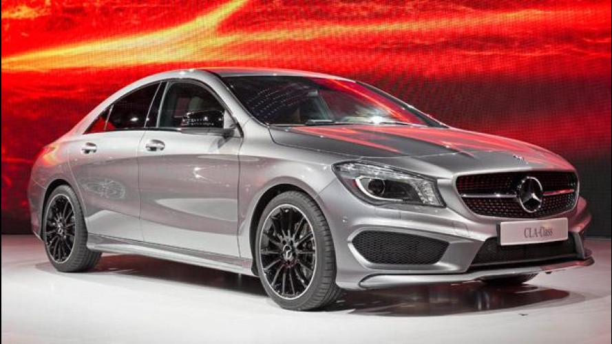 Mercedes CLA: un'aerodinamica da record