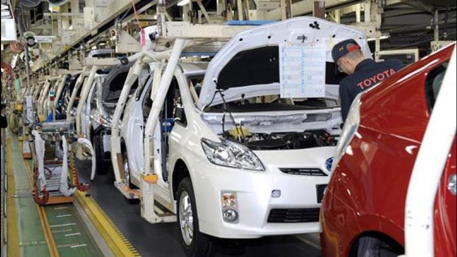 Toyota torna il primo costruttore al mondo, superate nel 2012 GM e VW