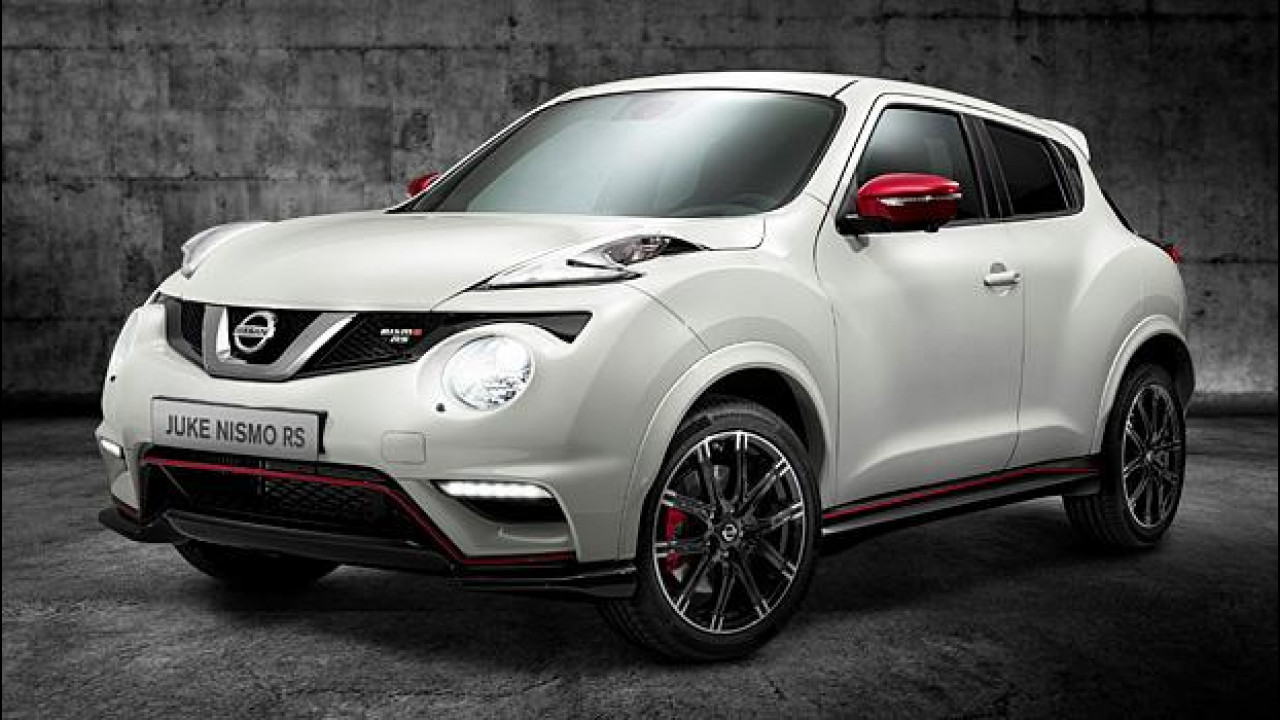 [Copertina] - Nissan Juke Nismo RS, prezzi da 30.000 euro