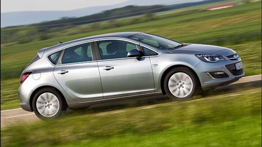 Opel Astra 1.6 CDTI, si abbassano i consumi