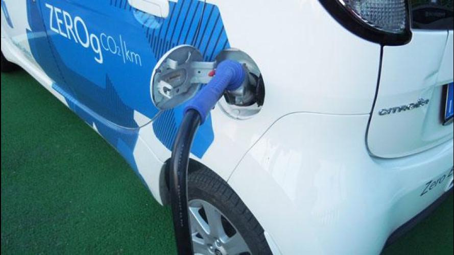 Citroen ricarica l'auto elettrica con l'energia del vento