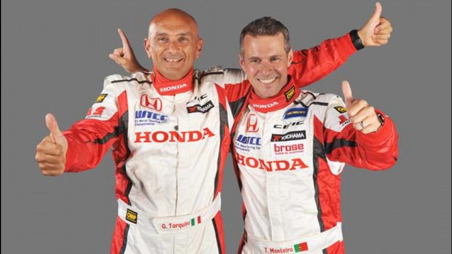 WTCC: Tarquini e Monteiro con Honda dal 2013