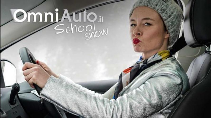 OmniAuto.it School Snow, la posizione di guida