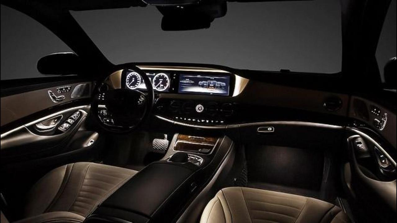 [Copertina] - Nuova Mercedes Classe S, gli interni
