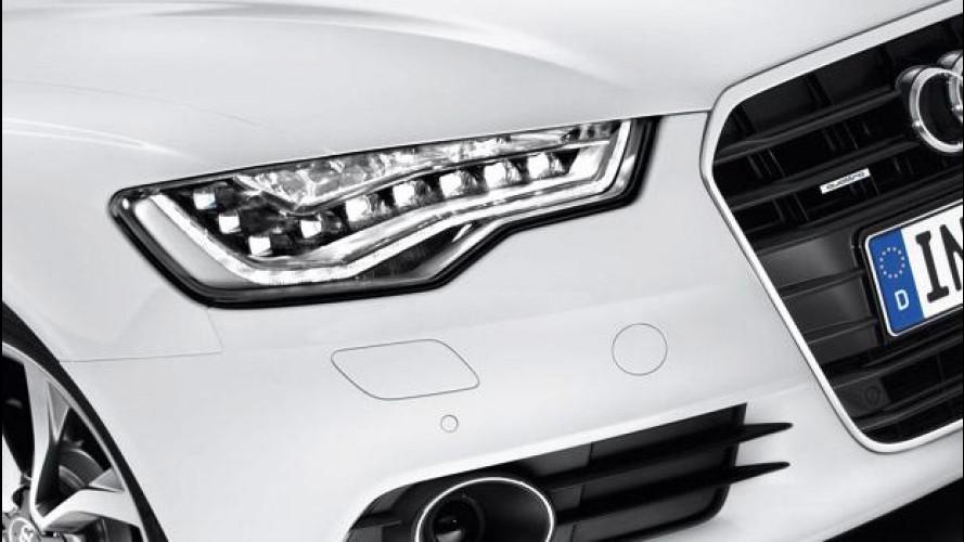 La Ue certifica il risparmio energetico delle luci a LED Audi