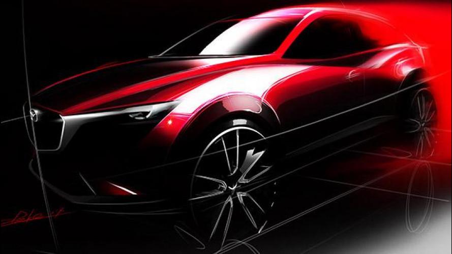 Mazda CX-3, ecco il piccolo crossover
