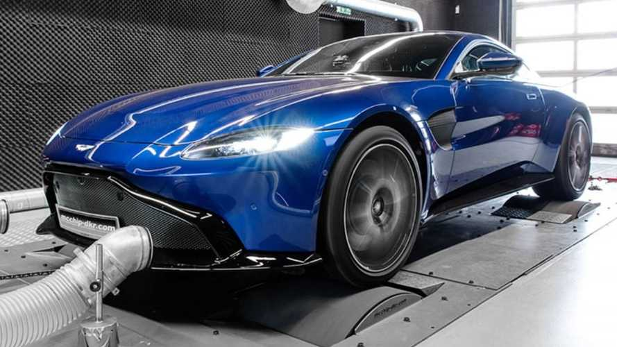 Aston Martin Vantage, su V8 llega a los 700 CV