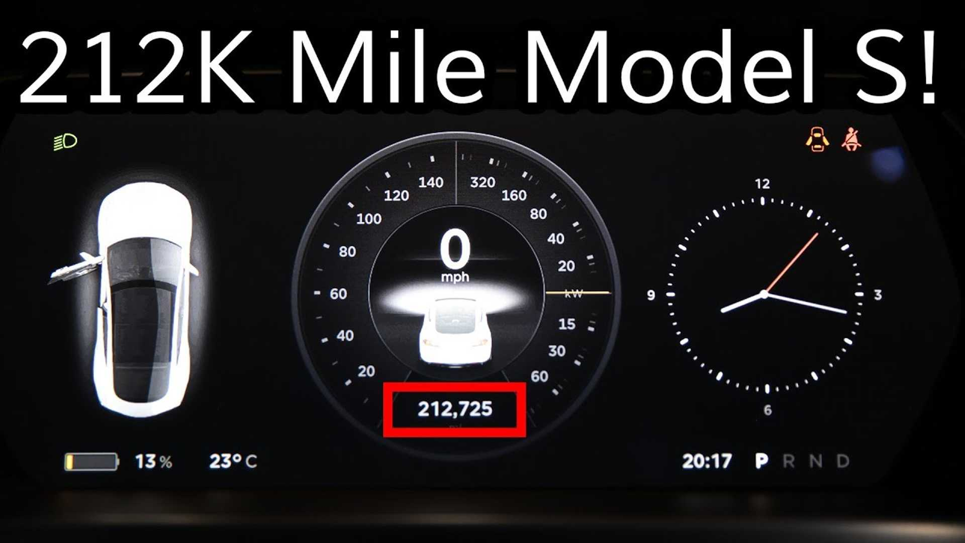 Tesla Model S Owner's Account Of 213,000 Miles To Date