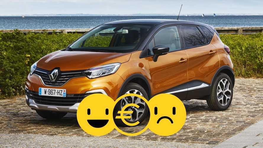 Promozione Renault Captur, perché conviene e perché no