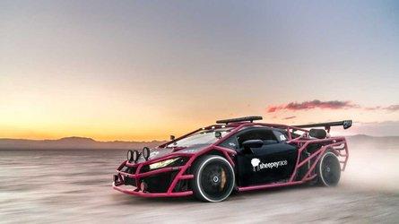 Rali-stílusjegyekkel vérteztek fel egy Lamborghini Huracánt