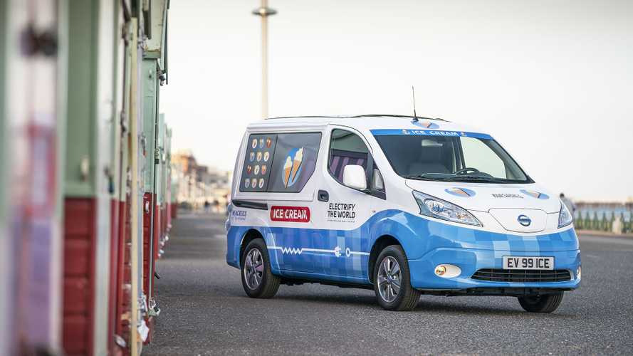 Nissan e-NV200, l'alternativa al carrello dei gelati
