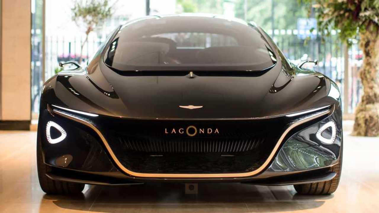 Aston Martin Lagonda Vision Concept in London