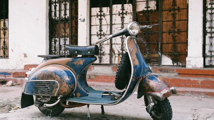 Watch This Guy Restore A 1965 Vespa Barn Find
