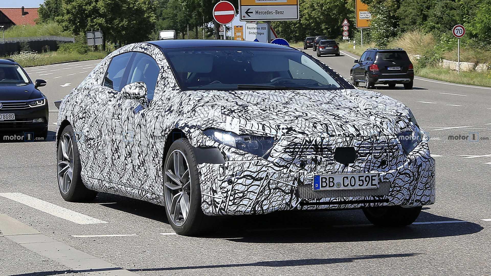 2020 - [Mercedes-Benz] EQ S - Page 2 2021-mercedes-eqs-spy-photo