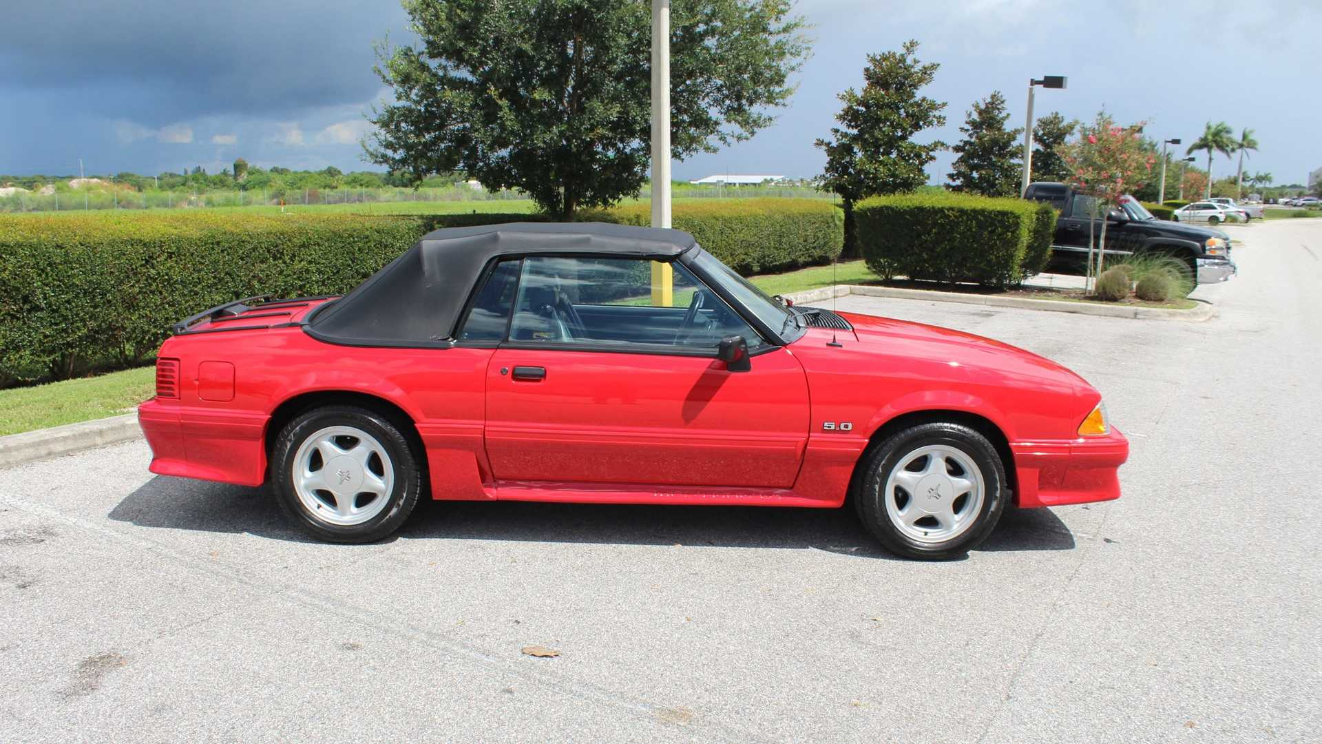 Ice ice baby 1992 ford mustang gt convertible motorious