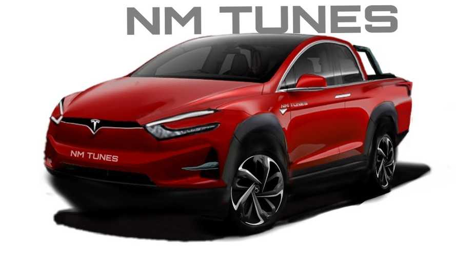 Is This What The Tesla Pickup Will Really Look Like?