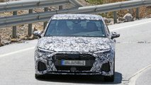 2020 Audi A3 Sedan S Line spy photos