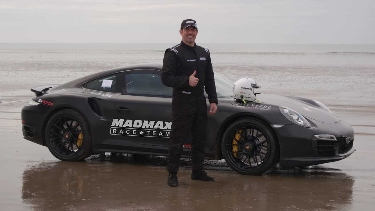 This is the fastest speed ever recorded on sand