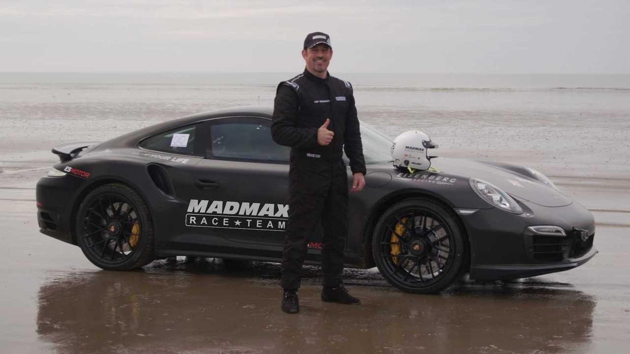 Record de vitesse sur le sable de Zef Eisenberg
