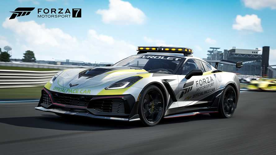 Chevy Corvette ZR1 Pace Car Arrives In Forza Motorport 7
