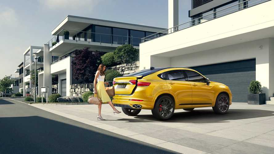 Geely Introduces World's First Plug-In Hybrid Coupe SUV