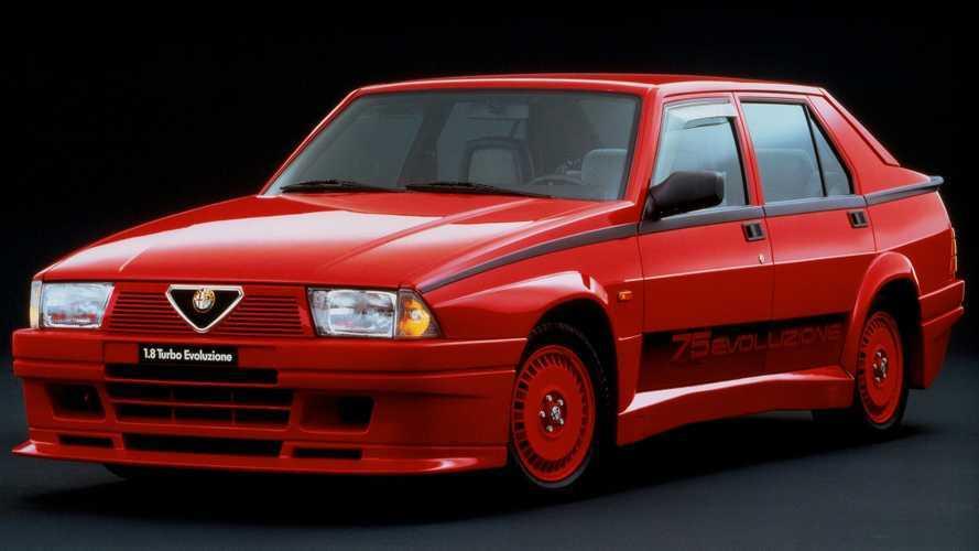 Alfa Romeo 75 Turbo Evoluzione, vedo rosso