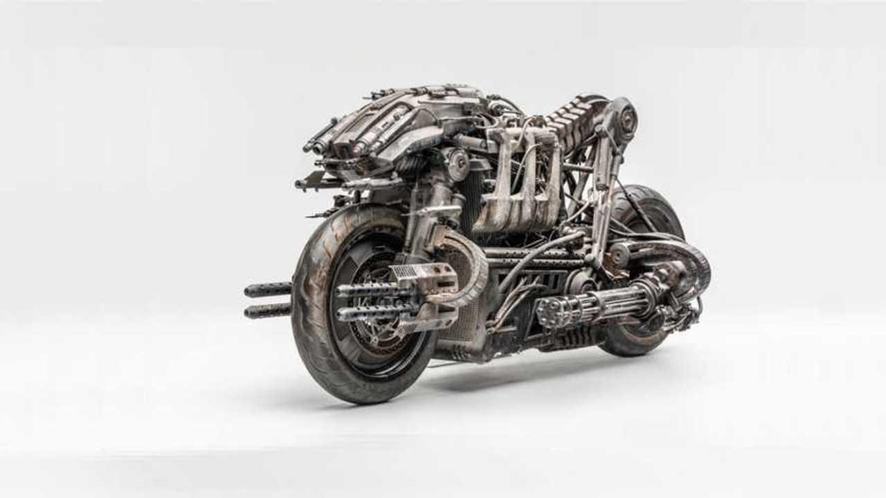 SkyNet Ducati Cover