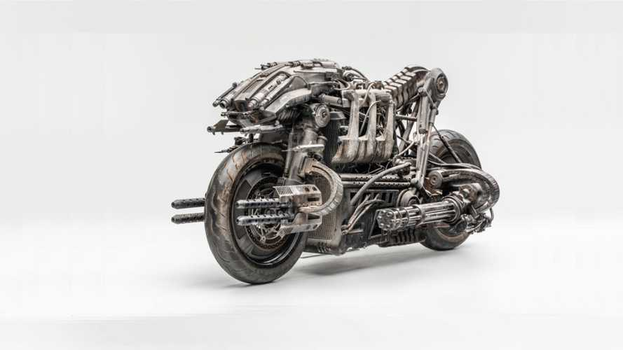 Moto-Terminator: Custom Ducati Hypermotards Go To Hollywood