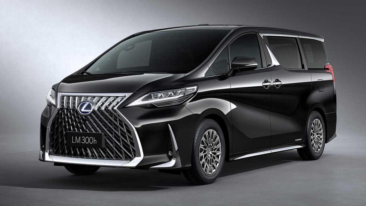 Autos mit krassem Grill: Lexus LM