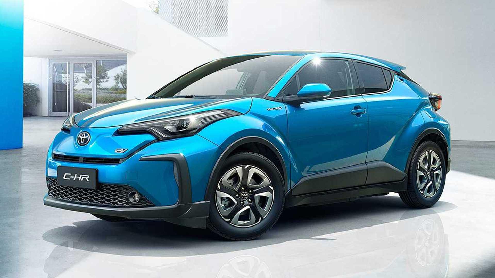 Toyota C-HR, in Cina diventa elettrica