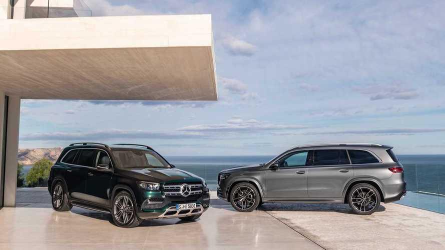 Elegánsabb formatervet kapott az új Mercedes-Benz GLS