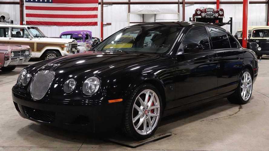 1 2006 jaguar s type r