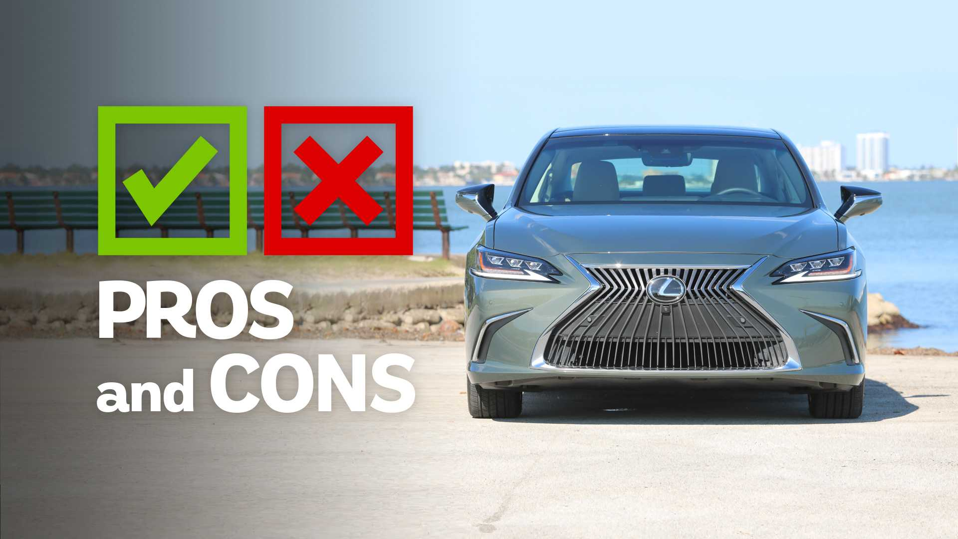 2019 Lexus ES 350: Pros And Cons