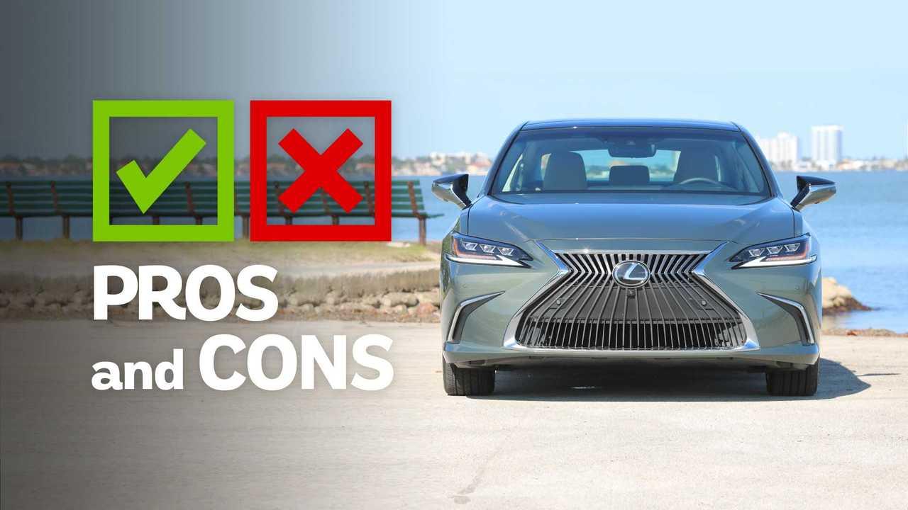 2019 Lexus ES 350: Pros And Cons