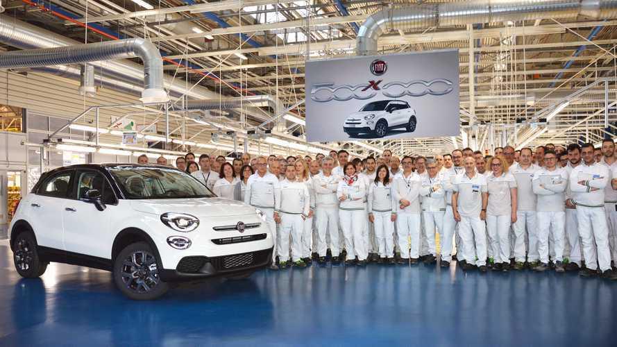 Le Fiat 500X franchit le cap du demi-million d'exemplaires produits