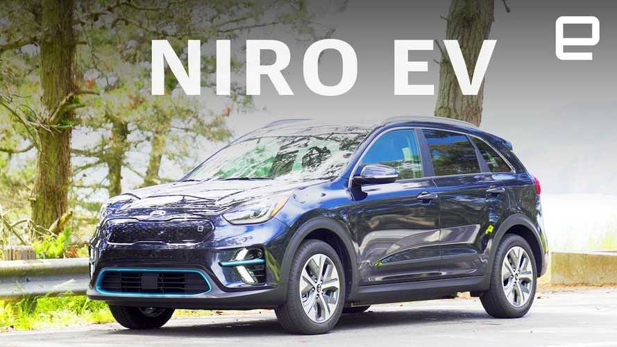 Engadget Says Kia Niro EV Is For The Crossover Generation: Video