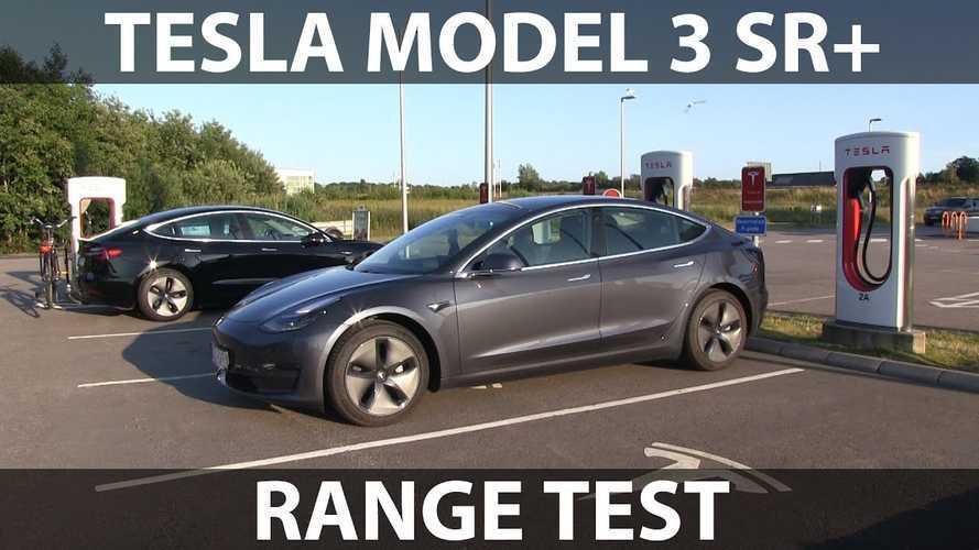 Bjørn Nyland: Tesla Model 3 Standard Range Plus Range Test Results