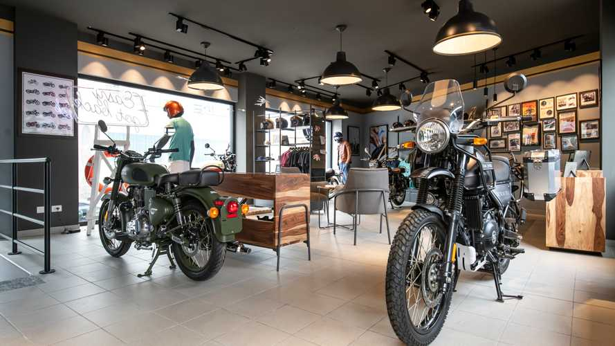 Royal Enfield, inaugurato il primo concept store italiano