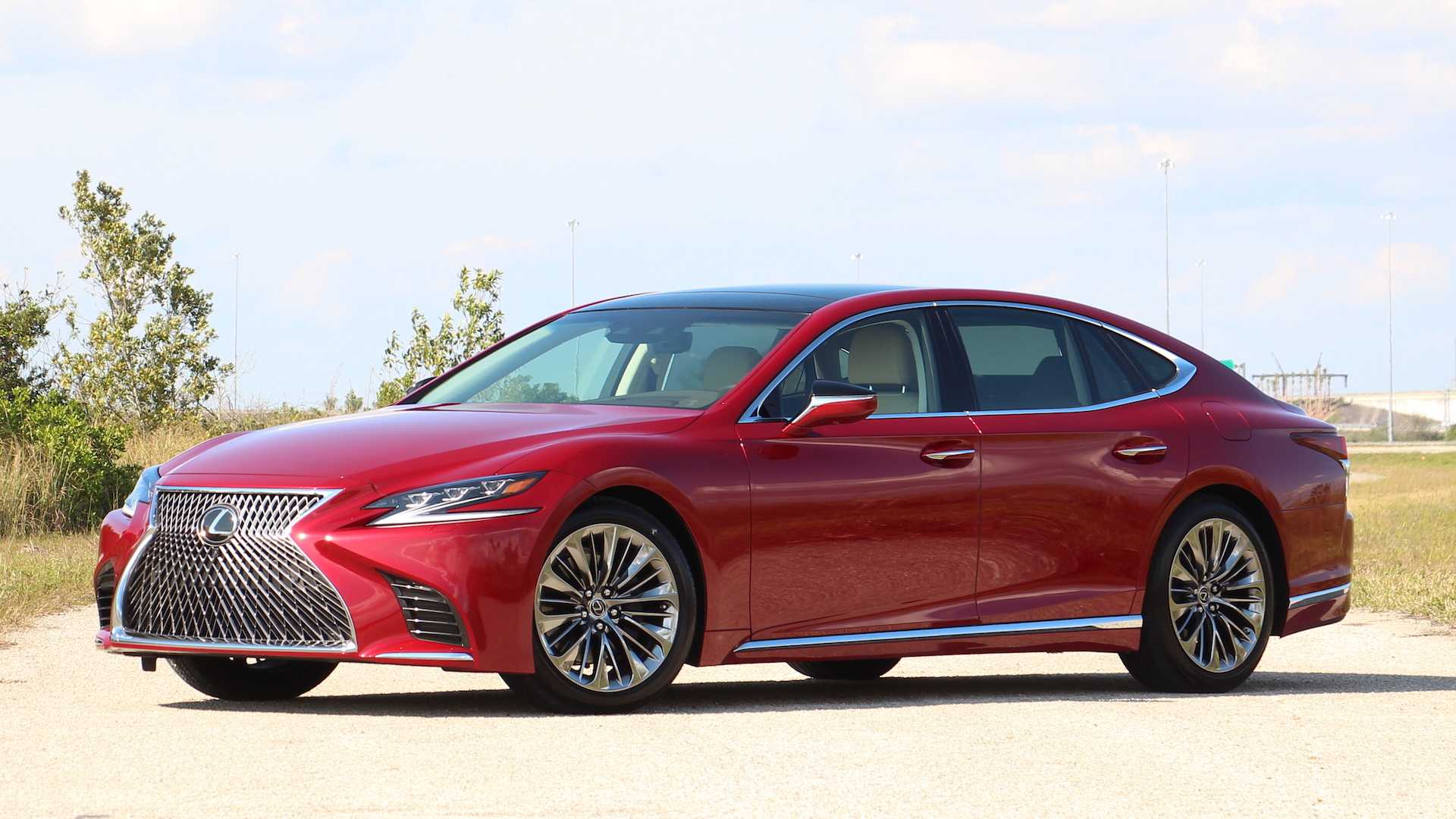 2019 Lexus Ls 500 F Sport Driving Notes Large Not In Charge