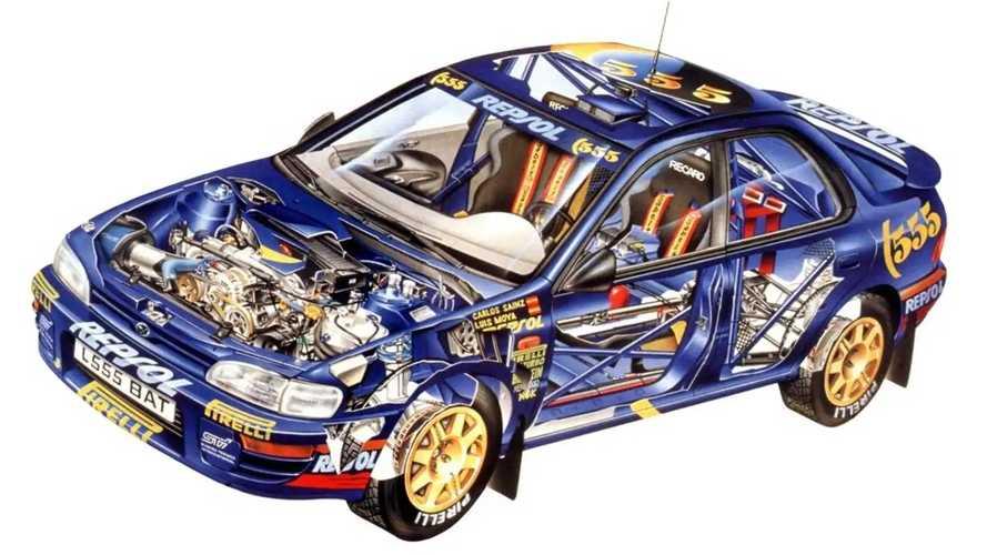 Subaru Impreza WRX, foto storiche